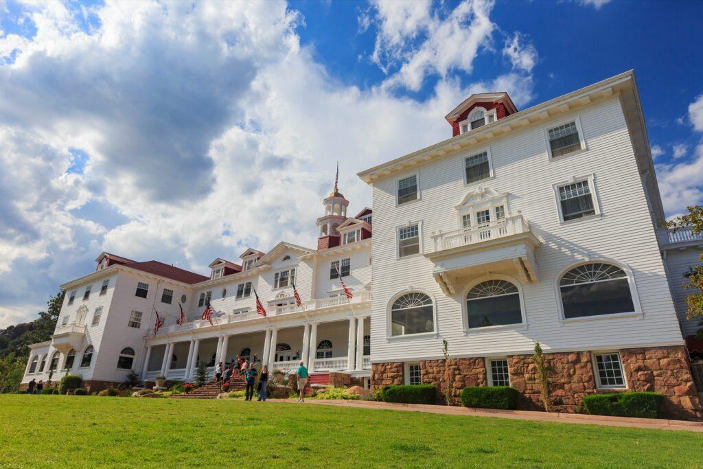 The Stanley Hotel in Estes Park, Colorado.