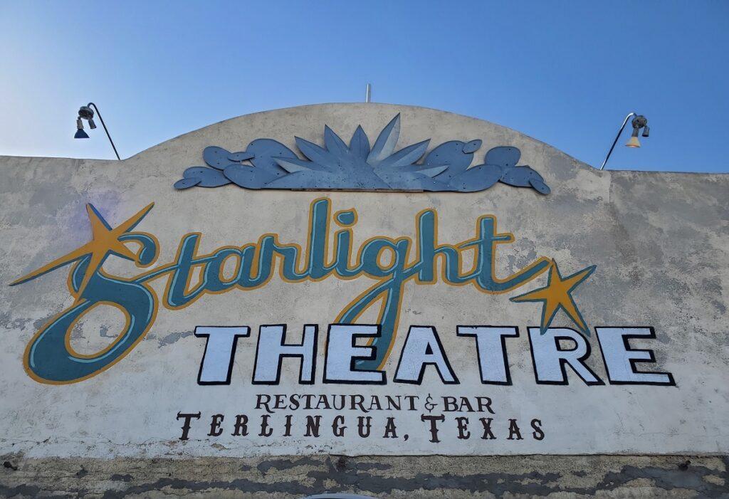 The Starlight Theatre Restaurant and Saloon.