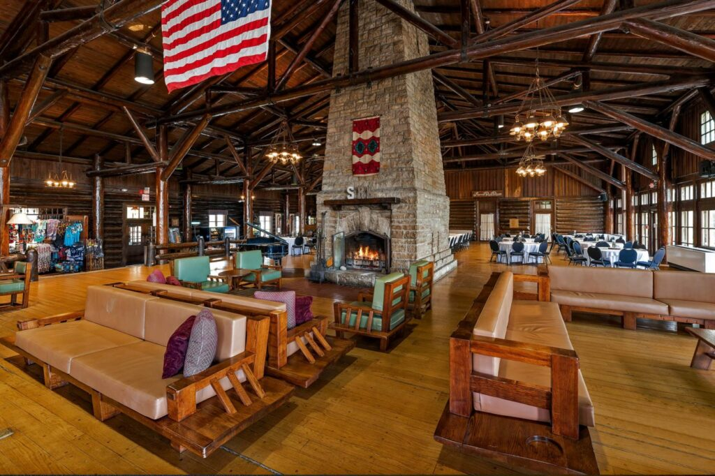 The Starved Rock Lodge in Illinois.
