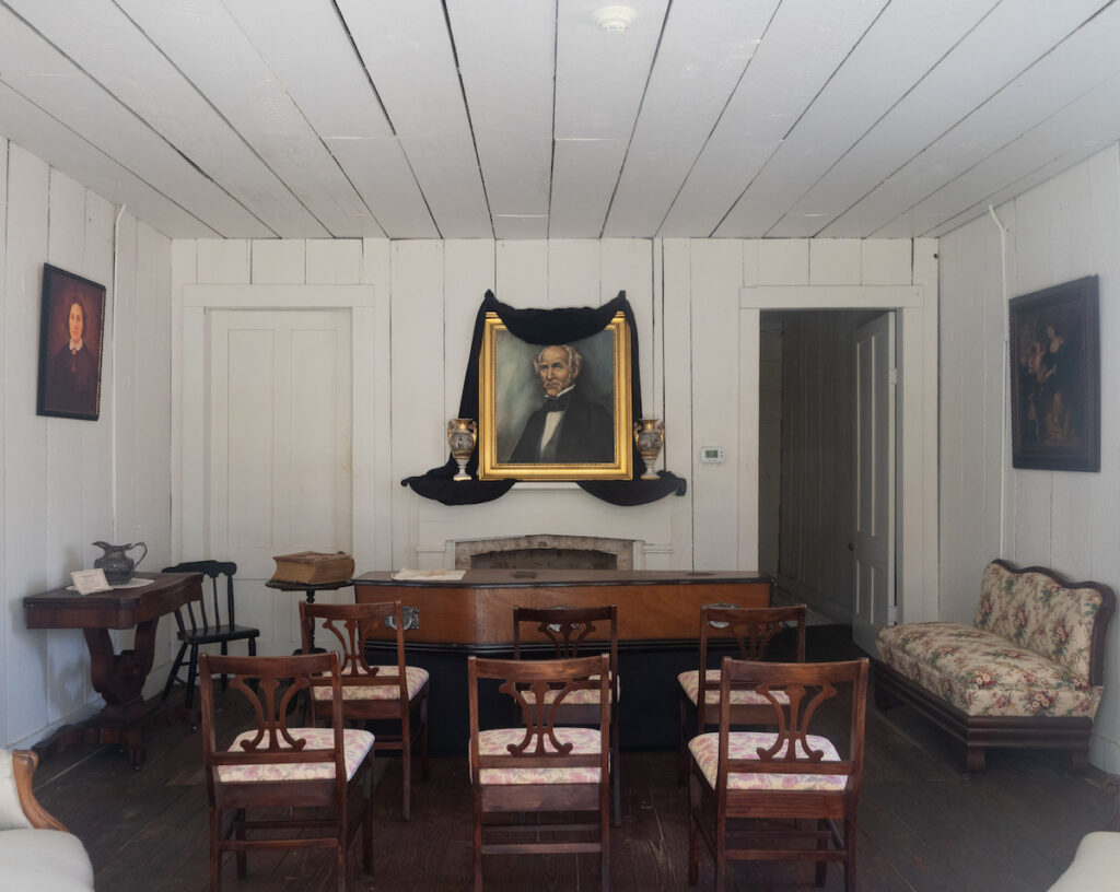 The Steamboat House at the Sam Houston Memorial Museum.