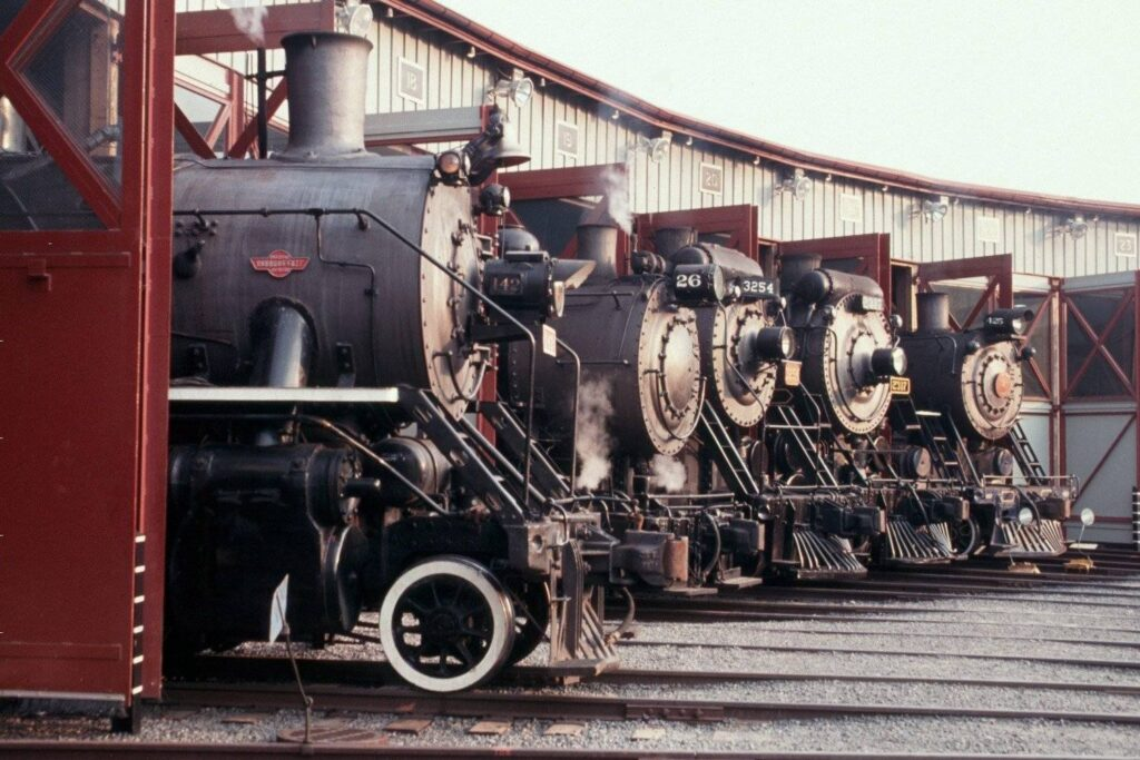 The Steamtown National Historic Site.