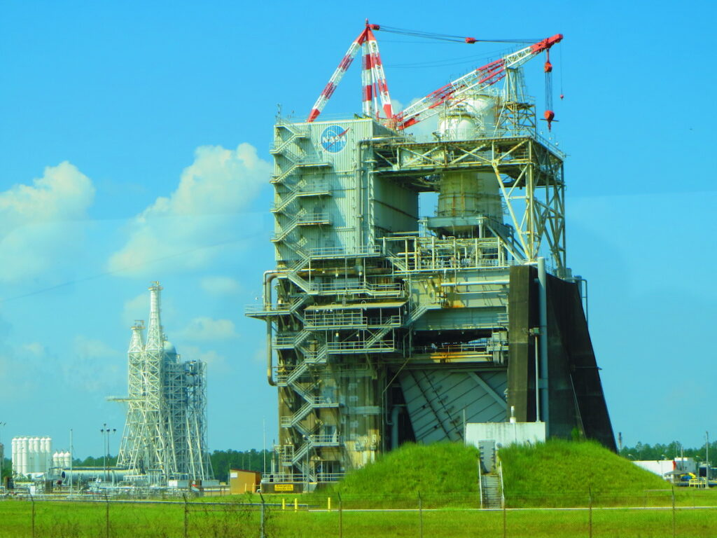 The Stennis Space Center in Mississippi.
