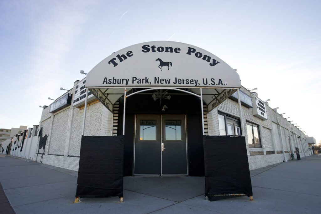 The Stone Pony in Asbury Park, New Jersey.
