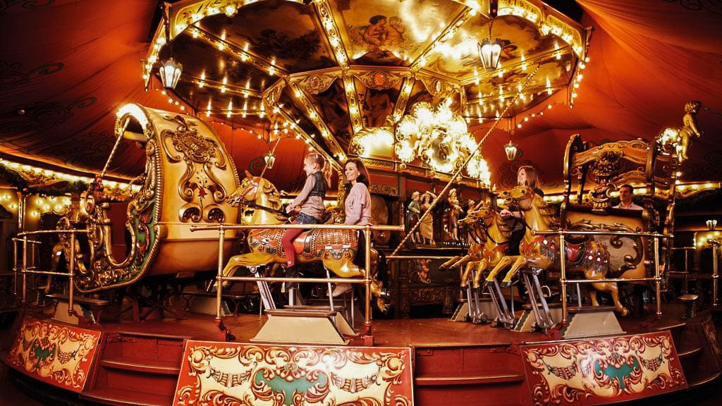 The Stoomcarrousel at Efteling amusement park