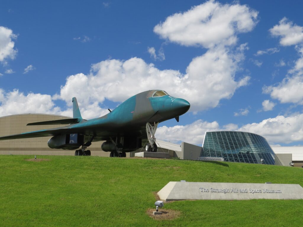 The Strategic Air Command and Aerospace Museum.
