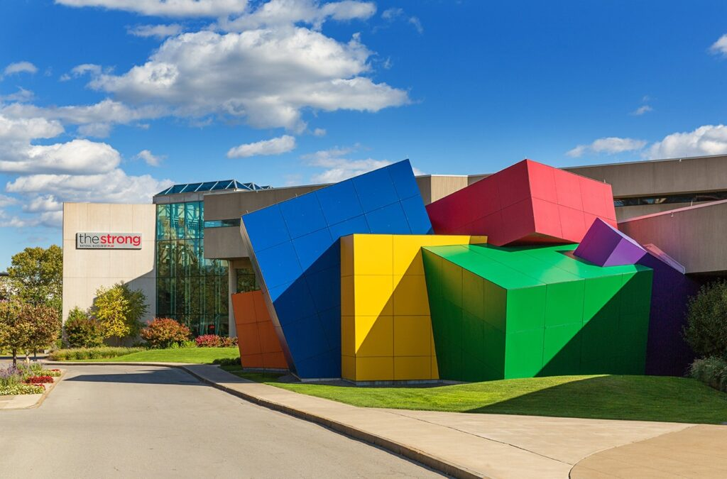 The Strong National Museum of Play in Rochester.