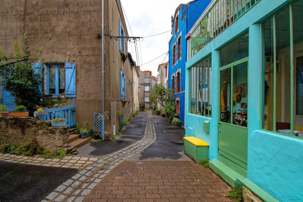 The suburb of Trentemoult in Nantes.