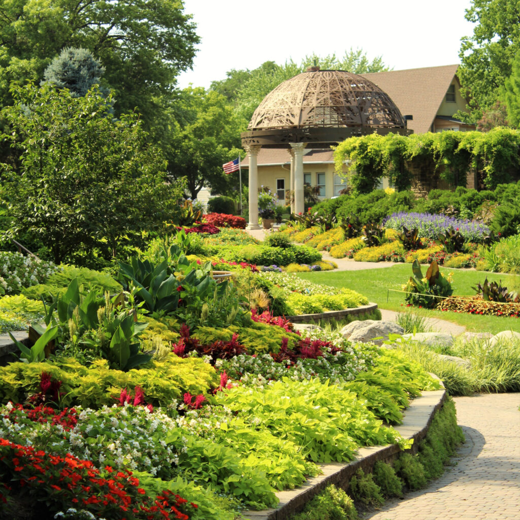 The Sunken Gardens in Lincoln, Nebraska.