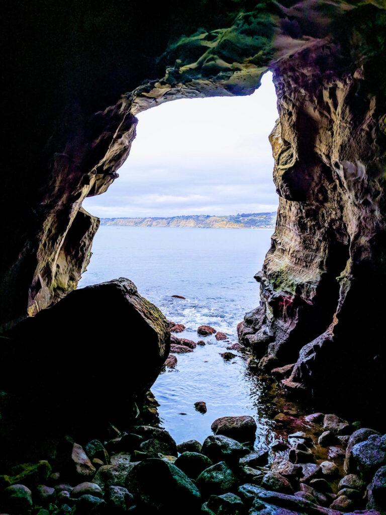 The Sunny Jim Sea Cave in La Jolla.