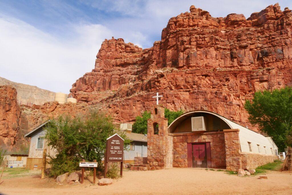 The Supai village in Arizona.