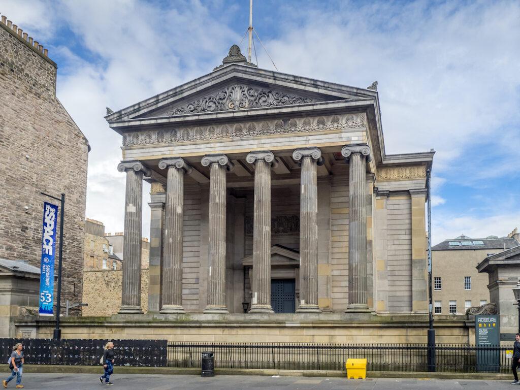 The Surgeon's Hall Museum in Edinburgh, Scotland.