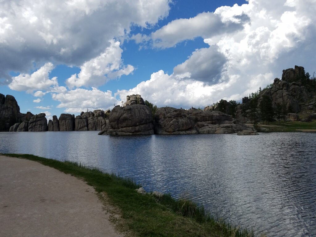 The Sylvan Lake Trail in Custer State Park.