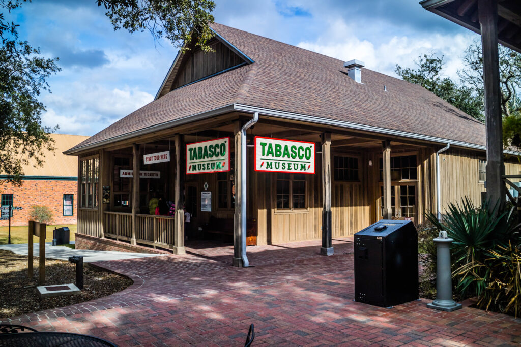 The Tabasco Museum on Avery Island.