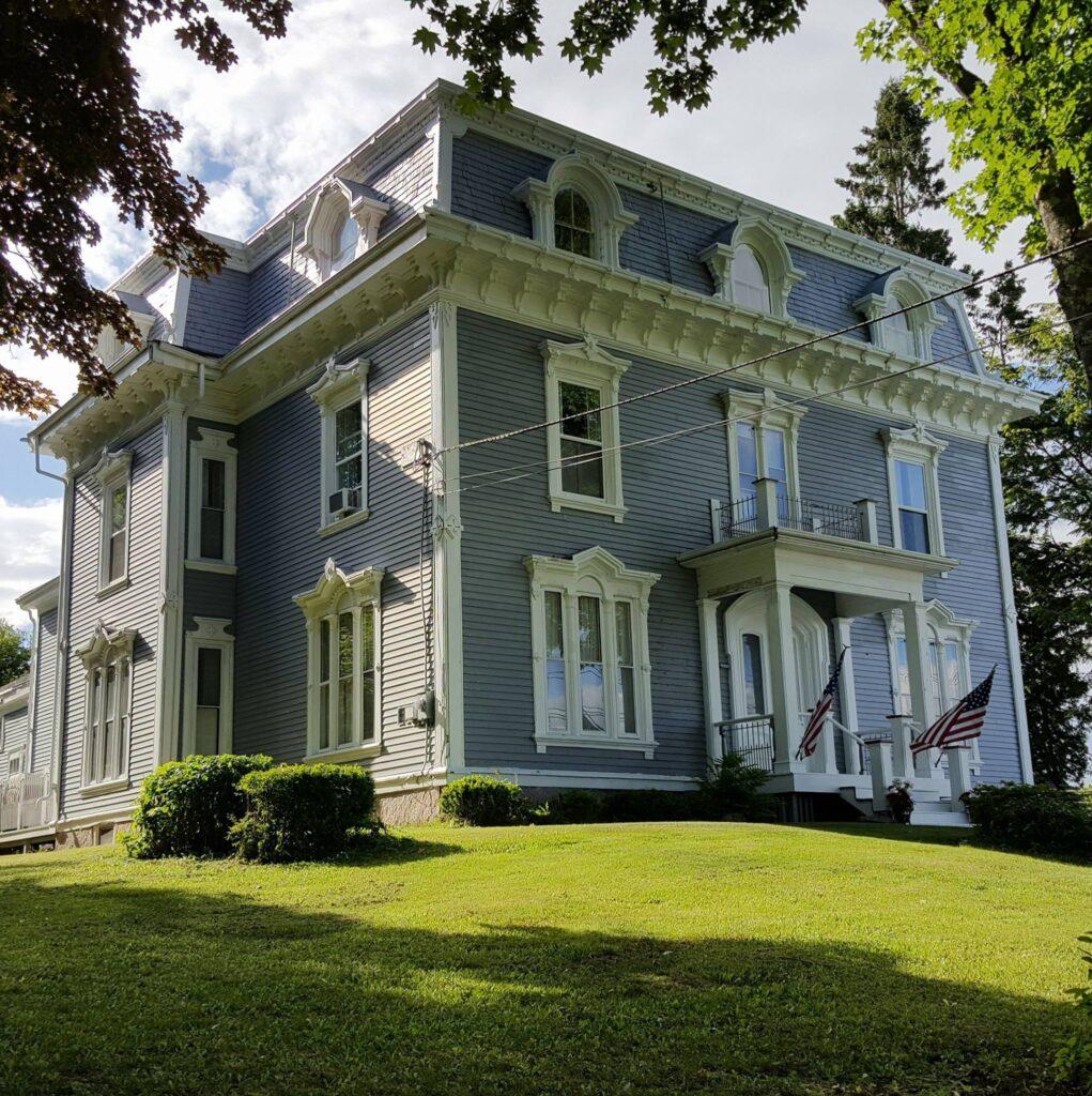 The Talbot House Inn in Machias, Maine.