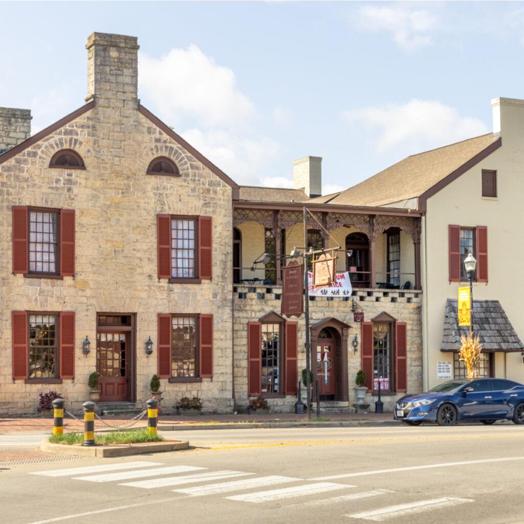 The Talbott Tavern in Bardstown, Kentucky.