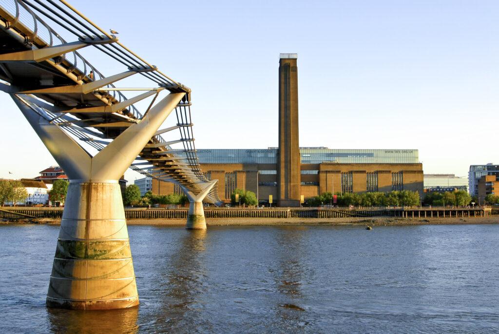 The Tate Modern in London.