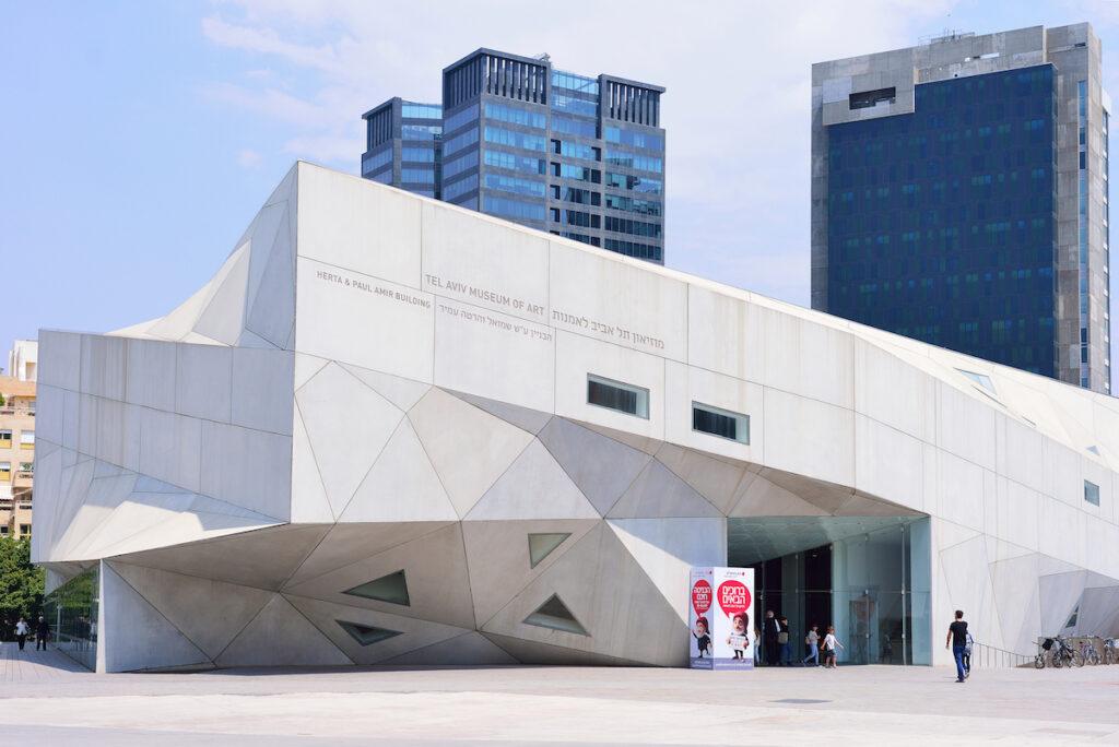 The Tel Aviv Museum of Art.