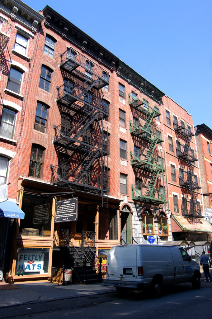 The Tenement Immigration Museum in New York City.