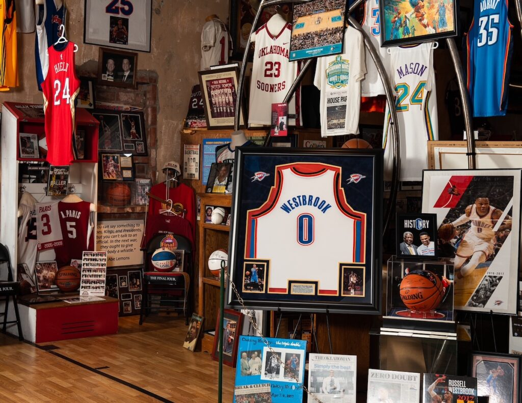 The Territorial Capital Sports Museum, Guthrie.