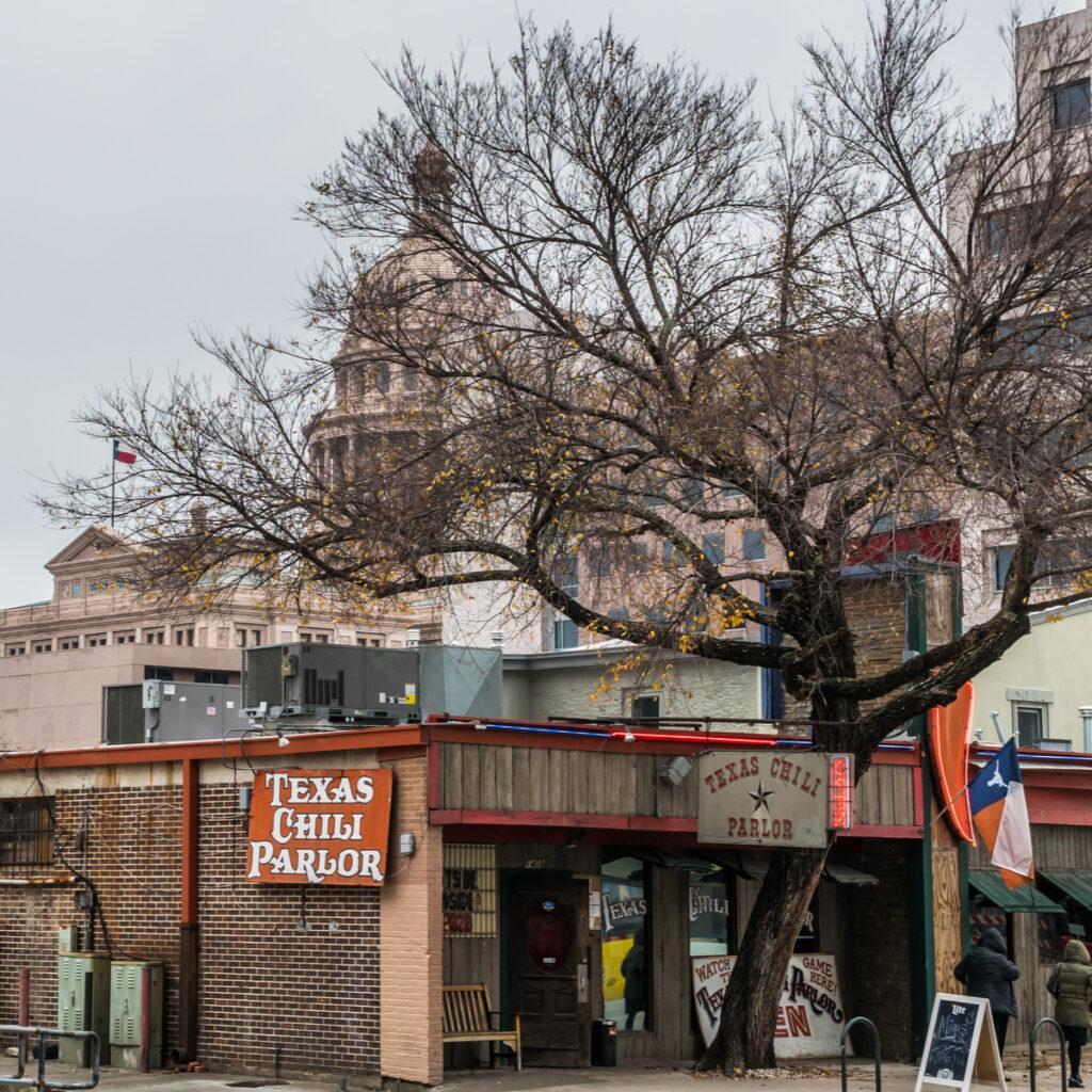 The Texas Chili Parlor.