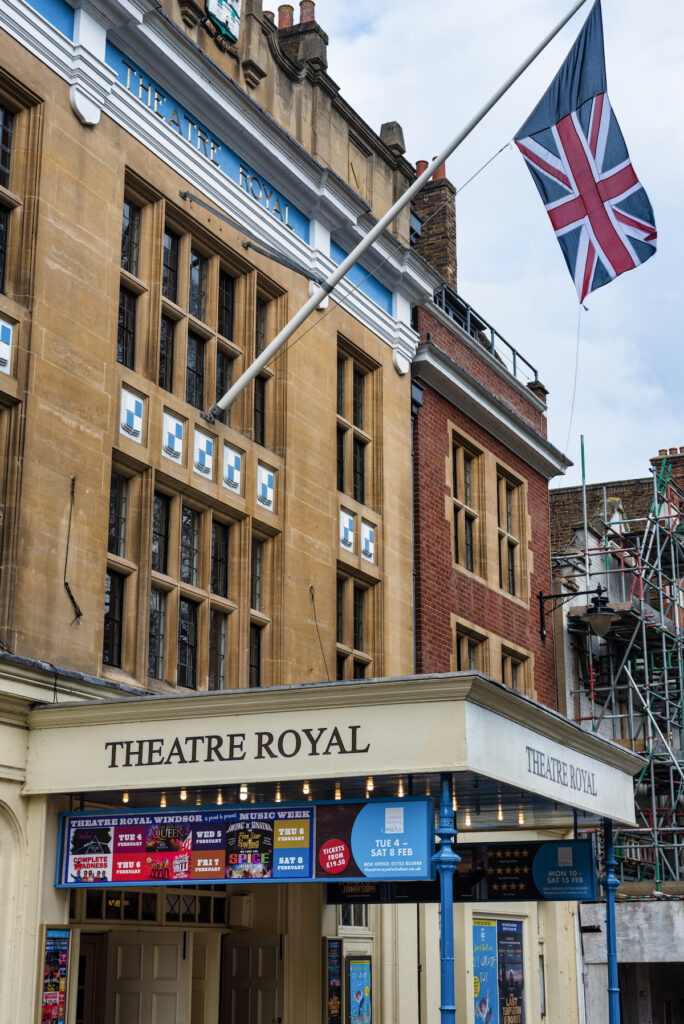 The Theatre Royal in Windsor, England.