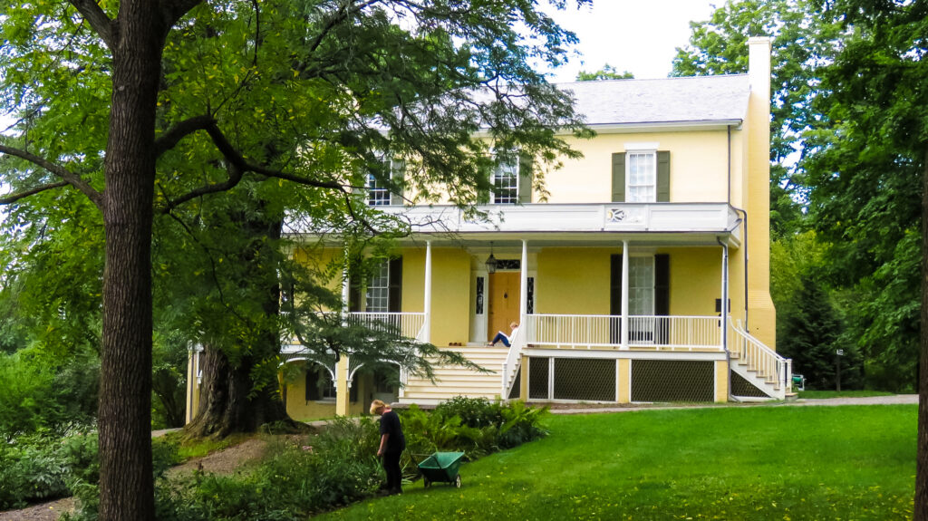 The Thomas Cole National Historic Site.