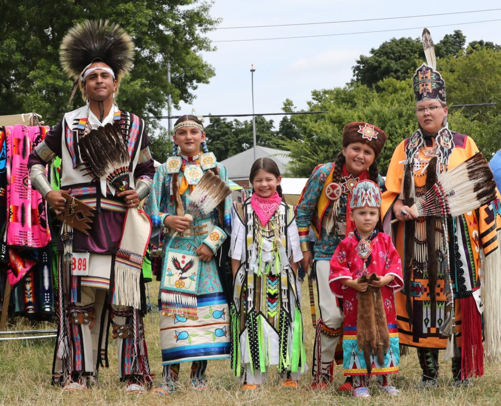 The Thunderbird American Indian Powwow in Queens.