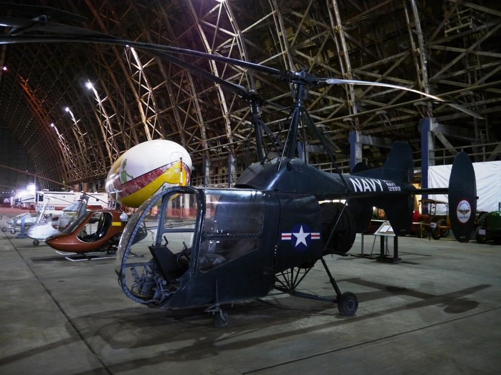 The Tillamook Air Museum in Oregon.