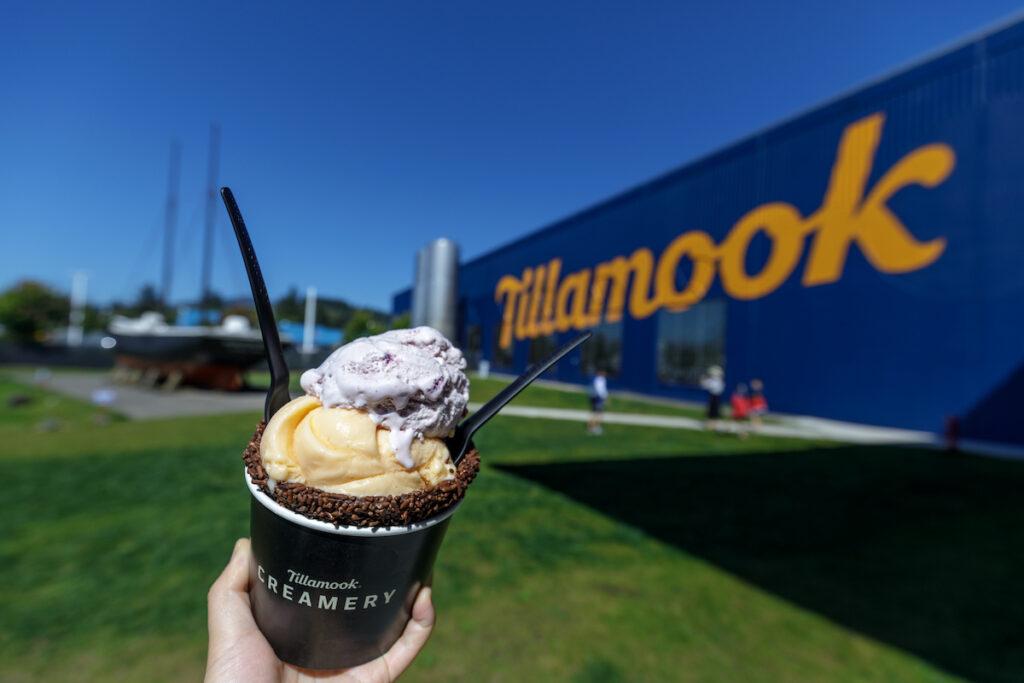 The Tillamook Creamery in Oregon.
