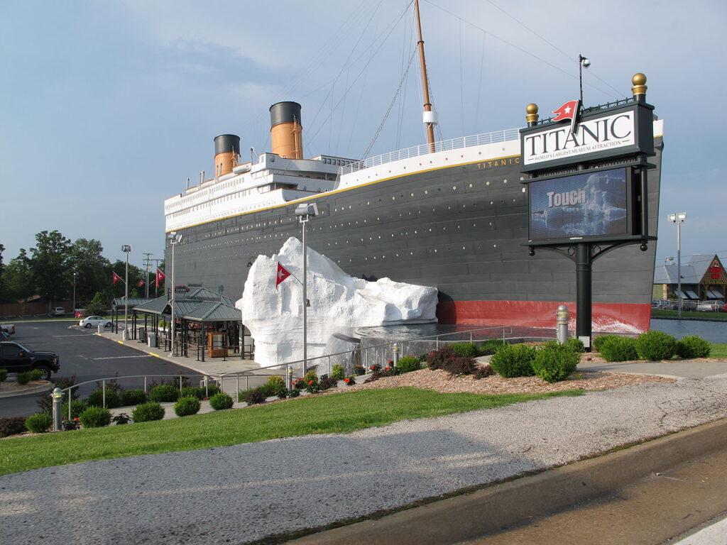 The Titanic Museum in Branson.