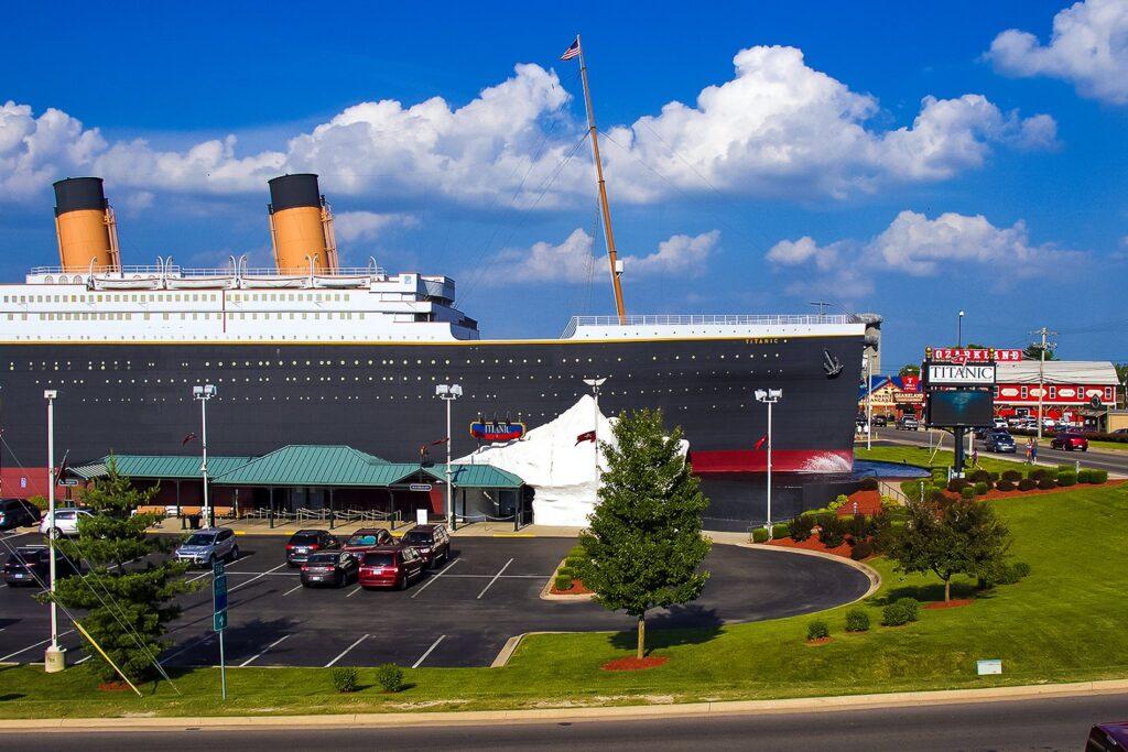 The Titanic Museum in Branson, Missouri.