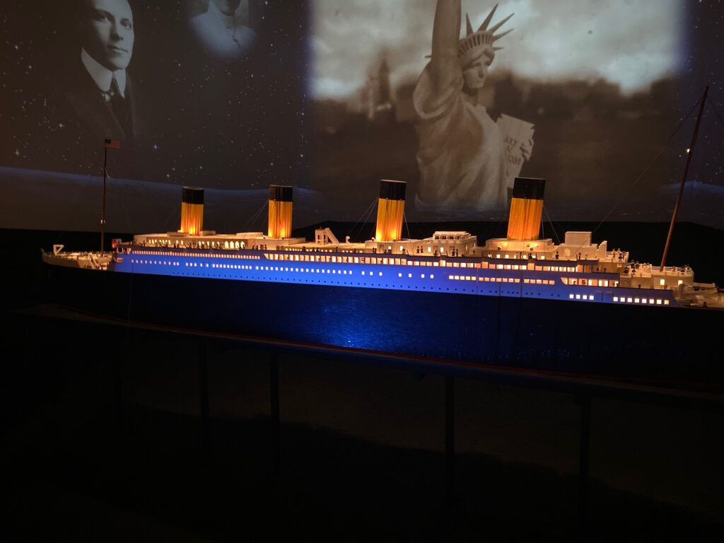 The Titanic Museum in Pigeon Forge.