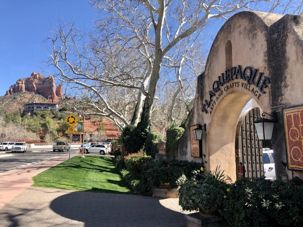 The Tlaquepaque Arts and Shopping Village.