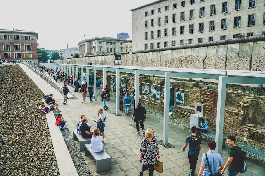 The Topography of Terror Museum in Berlin.