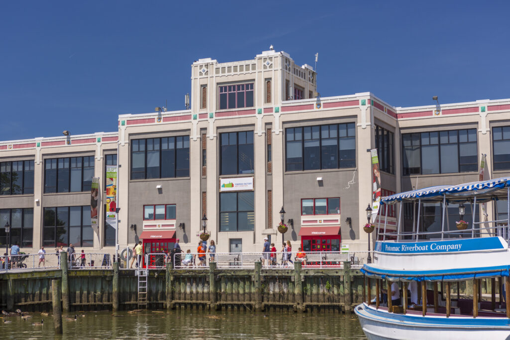 The Torpedo Factory Art Center in Alexandria.