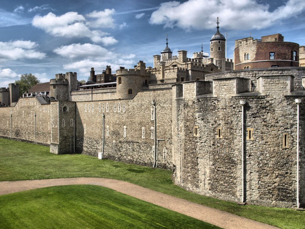The Tower of London in England.