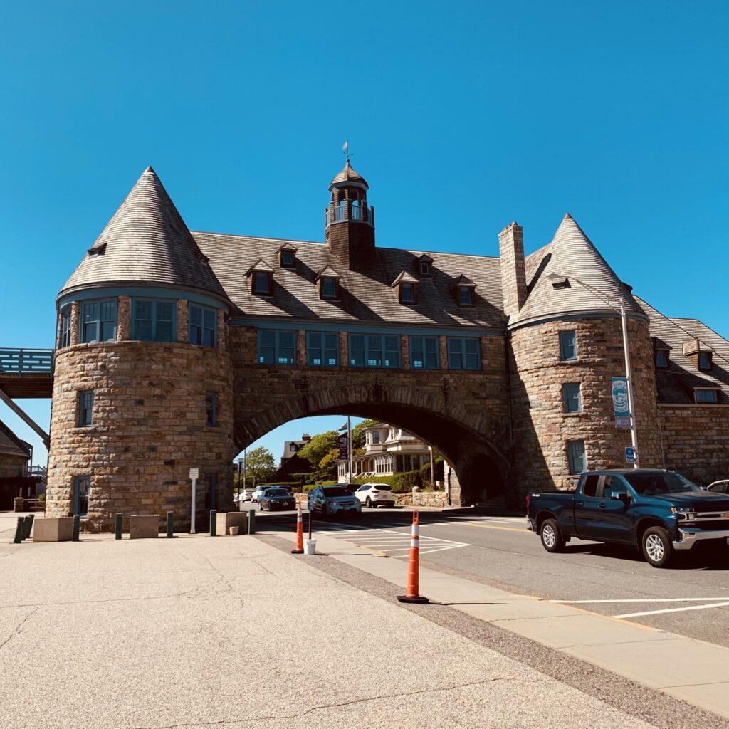 The Towers in Narragansett, Rhode Island.