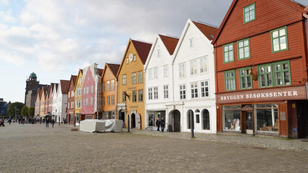 The town of Bergen, Norway.