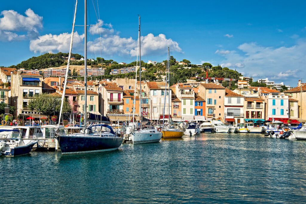 The town of Cassis, France.