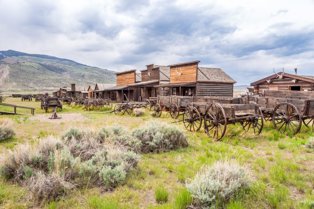 The town of Cody in Wyoming.