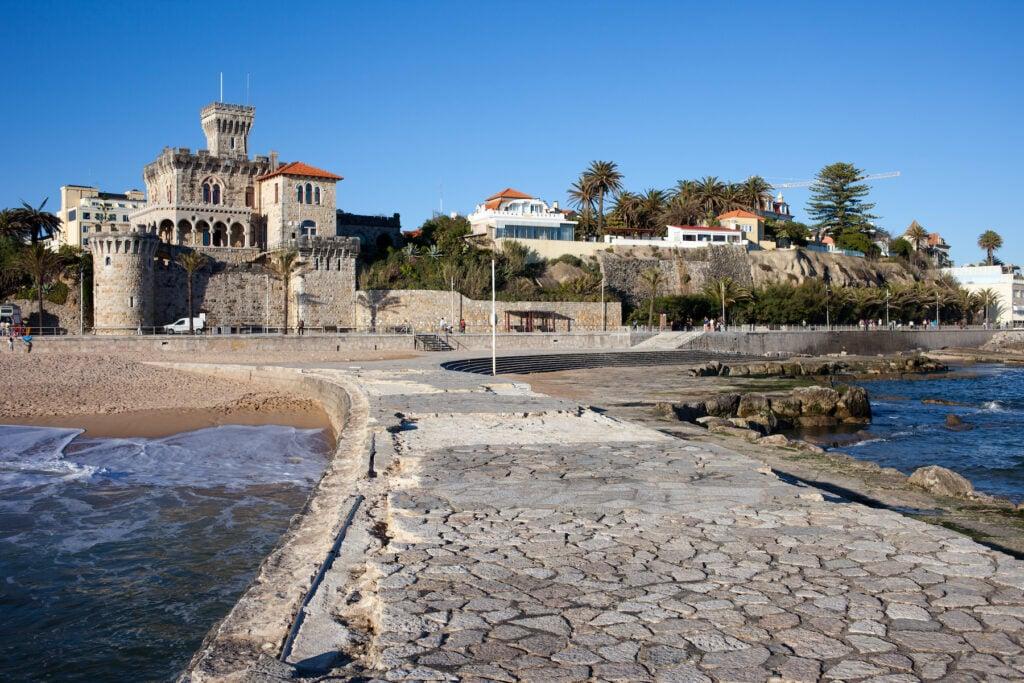 The town of Estoril near Cascais.