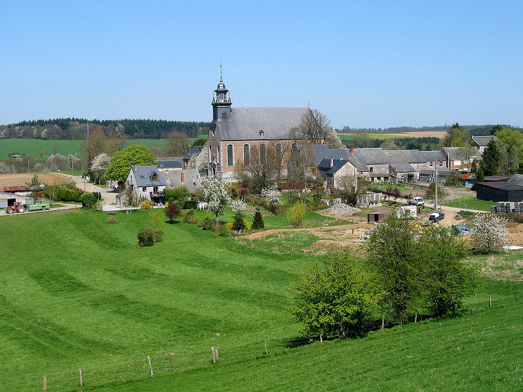 The town of Foy in Belgium.