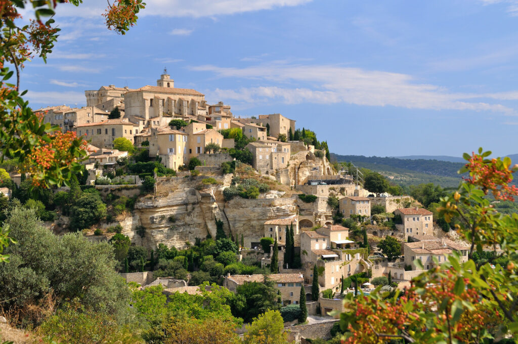 The town of Gordes, France.