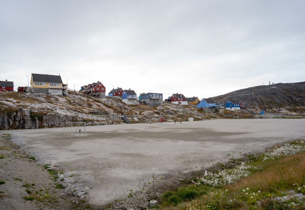 The town of Ilulissat in Greenland.
