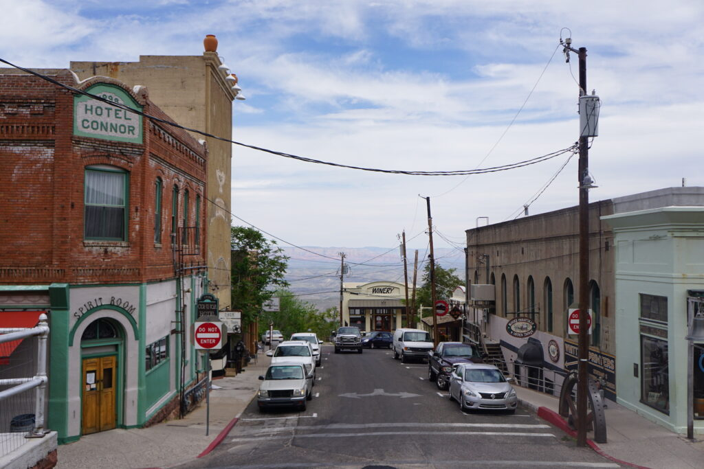 The town of Jerome, Arizona.