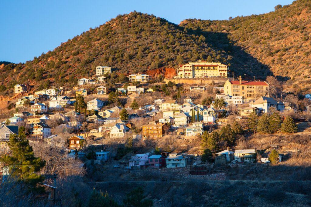 The town of Jerome, Arizona.