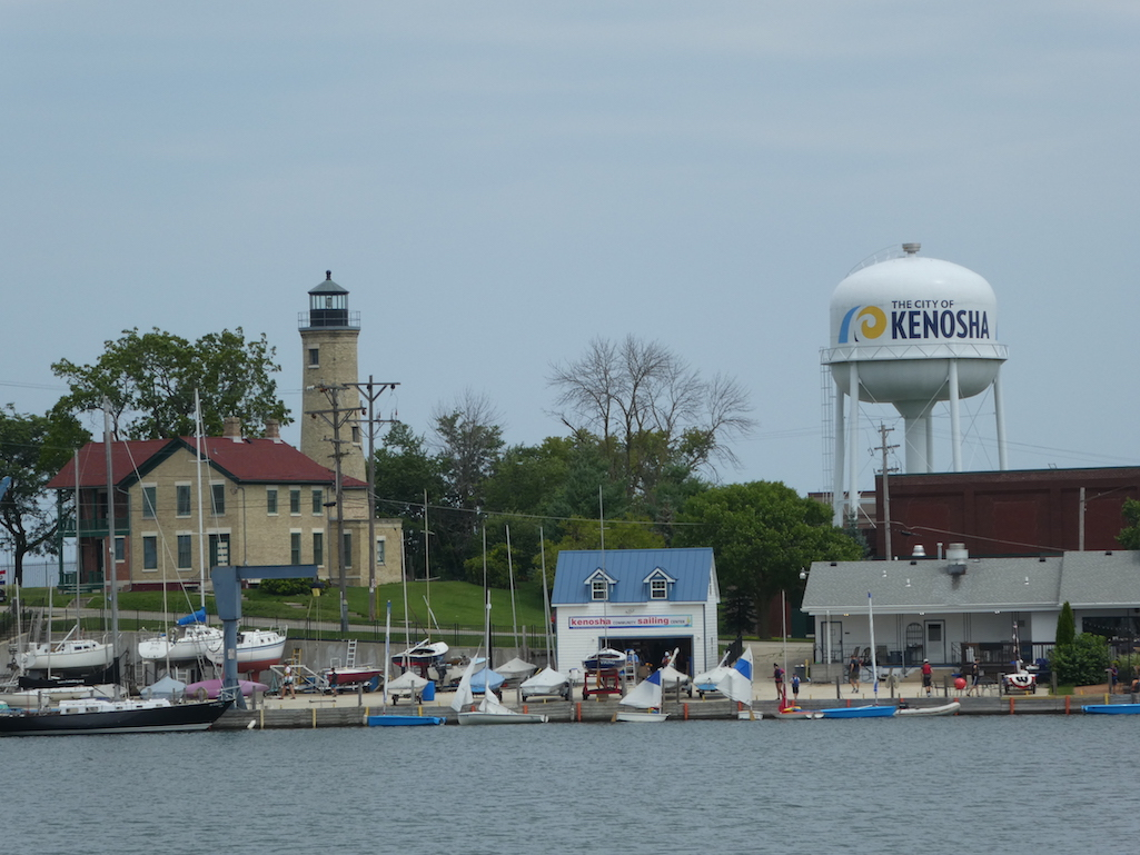 The town of Kenosha, Wisconsin.