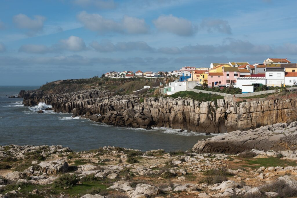 The town of Peniche in Lisbon.