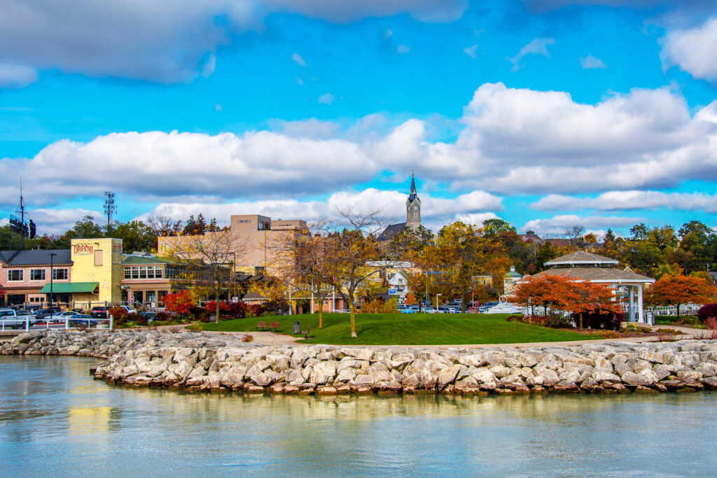 The town of Port Washington, Wisconsin.
