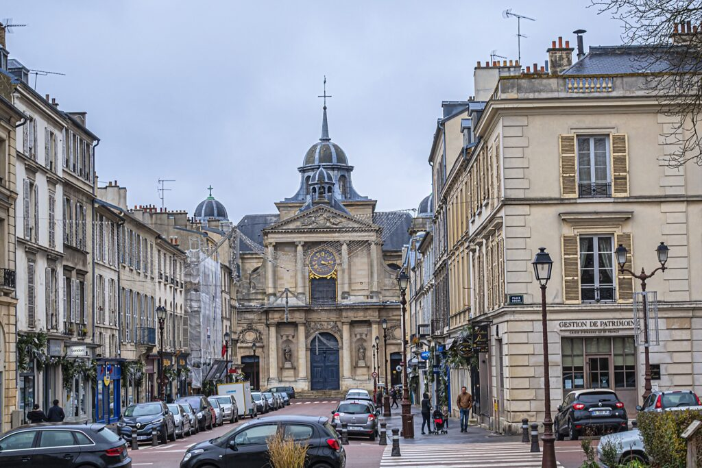The town of Versailles.